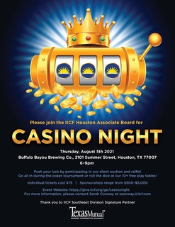 IICF Houston Associate Board Casino Night