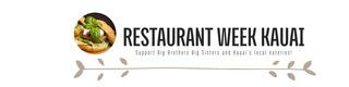 Restaurant Week Kauai