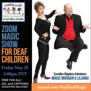 No Limits Deaf Magic Show-May 28
