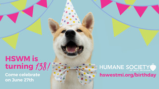 HSWM's 138th Birthday Party Volunteering 2021