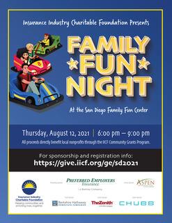 IICF Summer Family Fun Night