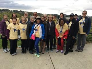 Nurses House Fundraiser Walk at ANA-NY Conference
