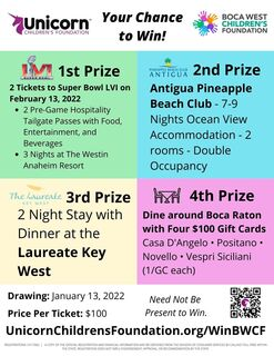 2021 Boca West Children's Foundation Chance Drawing