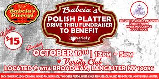 Babcia's Polish Platter Drive Thru Fundraiser to Benefit Variety Club!