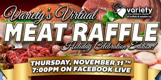 Variety's Virtual Meat Raffle: Holiday Celebration Edition!
