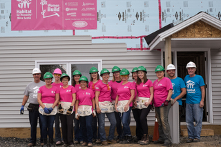 Habitat for Humanity Nova Scotia Women Build 2016
