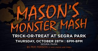 Mason's Monster Mash Event--Midlands