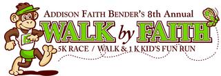 8th Annual Walk by Faith 5K Race/Walk & 1K Kids Obstacle Course