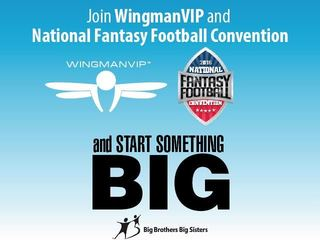 WingmanVIP & National Fantasy Football Convention Support BBBS