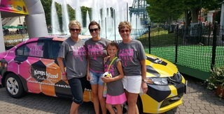 Kings Island Kicks Cancer 2016