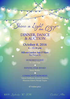 2016 Shine a Light on CSF - Dinner, Dance & Auction