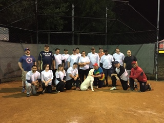 Senator Vitale's Softball Game