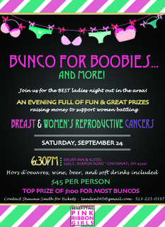 Bunco for Boobies 2016