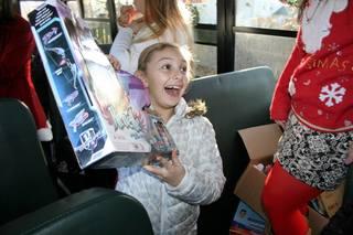 NJ Holiday Cheer Bus