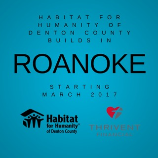 Thrivent Build, Habitat Roanoke