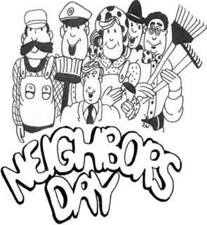 Neighbors Day 2017 Volunteer