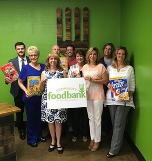 Brookwood Baptist Health's Healthy Over Hungry Cereal Drive 2017
