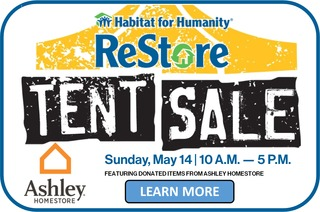 ReStore Tent Sale @ Ashley Homestore
