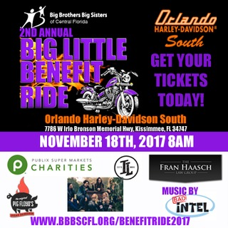 Big Little Benefit Ride 2017