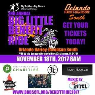 Big Little Benefit Ride 2017