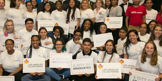 Builders for L.A. College Promise
