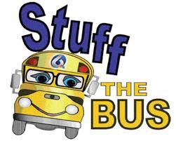 Stuff the Bus August 11, 12, and 13th