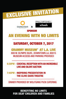 An Evening with No Limits Gala at The GRAMMY Museum
