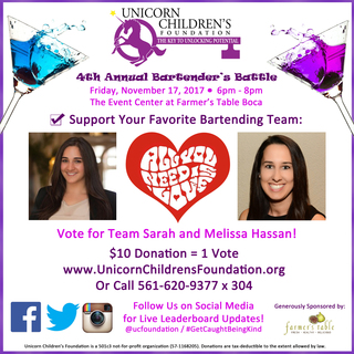 Team Sarah and Melissa
