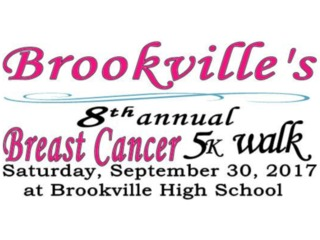 Brookville's 8th Annual Breast Cancer 5K Walk to benefit Pink Ribbon Girls