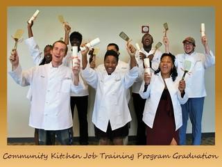 Community Kitchen Job Training Program Graduation