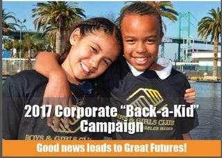 "BGCLAH Corporate ""Back a Kid"" Campaign"