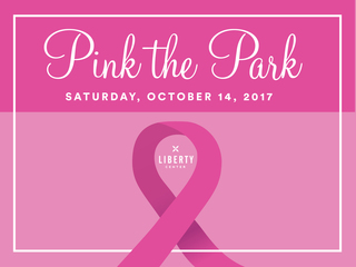Flip Flop for PINK Walk at Liberty Center 2017