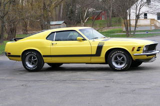 1970 Ford Mustang Boss 302 Drawing Party