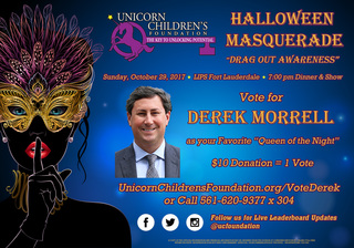 Vote for Derek Morrell