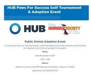 HUB Paws for Success Golf Tournament