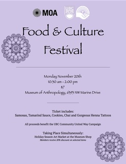 Museum of Anthropology Food and Culture Festival