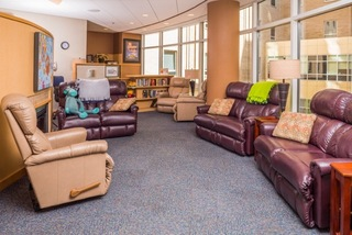Ronald McDonald Family Room at University Hospitals Rainbow Babies & Children's