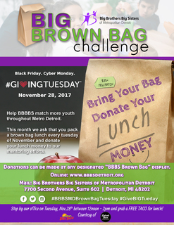 Brown Bag Giving Tuesday Challenge