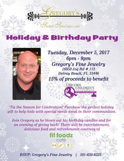 Holiday & Birthday Party