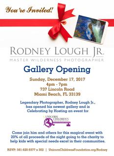 Rodney Lough Jr. Gallery Opening