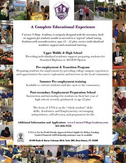 Unicorn Village Academy Scholarship Fund