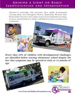 Unicorn's Mobile Developmental Clinics