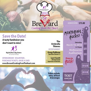 Brevard Cooking from the Heart Volunteer Registration 2018