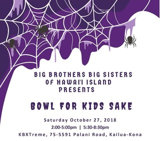 Bowl For Kids Sake 2018-West Hawai'i