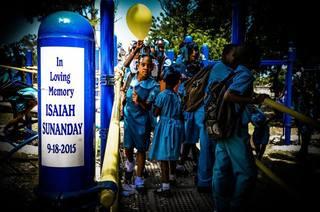 Ike's 2018 Playgrounds & Food for Uganda & Haiti