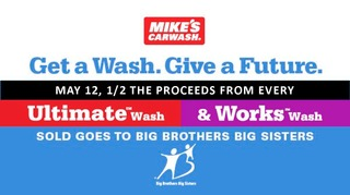 Volunteer for our Mike's Carwash Event - Saturday, May 12th!