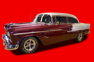 1955 Chevy Bel Air Cruiser Drawing Party