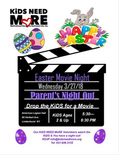 Easter Movie Night Volunteer Sign Up
