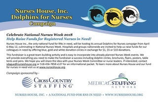 2018 Dolphins for Nurses Campaign