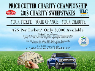 PCCC Charity Sweepstakes